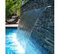 """Водопад пластиковый """"Стеновой"""" (600 мм.) Aquaviva PB 600 (фланец 25-230 мм.)"""