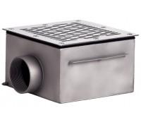 Слив донный (плитка) 200х200 мм., СД.20.1, из нерж. стали