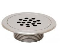 Форсунка возврата воды донная (плитка), из нерж. стали, д.90 мм., ФП.111.3 (барботажная)