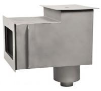 Скиммер (плитка), из нерж. стали, с удлиненной горловиной, СК.15.5
