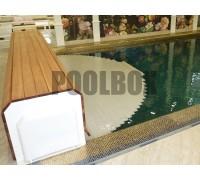 Автоматическое сматывающее устройство для жалюзи бассейна Thermodeck Procopi