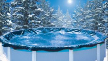 Зимовка каркасного бассейна Эсприт Биг, Гибралтар Atkantic pool (Канада)