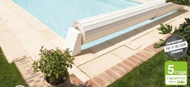 Плавающие жалюзи для бассейна, ламели шириной 75 мм., Procopi, цвет на выбор
